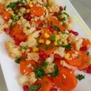 Rengarenk: Havuçlu Karnabahar Salatası Tarifi