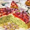 Karpuz Şekline Bürünmüş: Ispanaklı Tart Kek Tarifi
