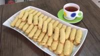 Pastane Lezzetinde: Tırtıl Kurabiye Tarifi