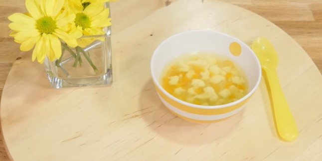 Bebekler için Sebze Çorbası Tarifi ( 9 Aylık + )