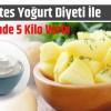 3 Günde 5 Kilo Verdiren Müthiş Diyet: Patates Diyeti