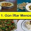 Ramazan 1. Gün Özel İftar Menüsü