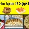 Hazır Yufkadan Yapılan 10 Değişik Börek Tarifi