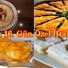 Ramazan 16. Gün Özel İftar Menüsü