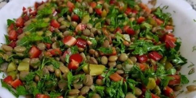 İftara Özel: Mercimek Salatası Tarifi