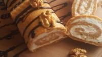 Bir Tabak Daha: Havuçlu Bisküvili Rulo Pasta Tarifi