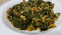 Bulgurlu Olsun Diyenlere: Ispanak Yemeği Tarifi