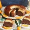 Portakallı Krem Karamelli Kek Tarifi