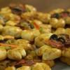 Pizza Tadında: Dereotlu Çiçek Poğaça Tarifi