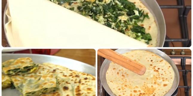 Dönerek Pişiyor: Ispanaklı Çevirme Böreği Tarifi
