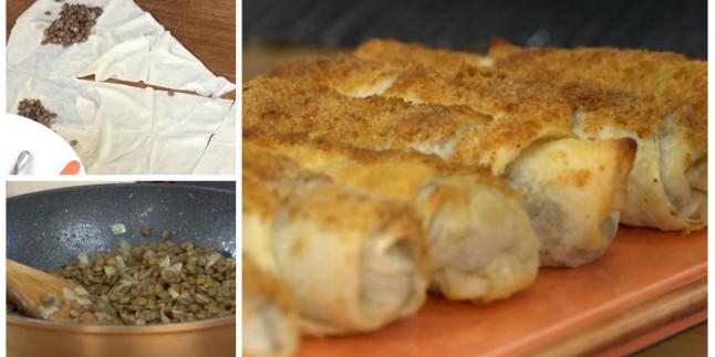 Çıtır Çıtır: Yeşil Mercimekli Börek Tarifi