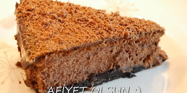 Aşk Acısına Bire Bir: Çikolatalı Cheesecake Tarifi