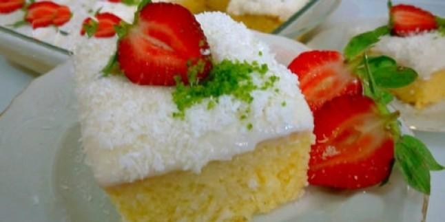 Bi Tabak Daha: Nişastalı Pamuk Pasta Tarifi