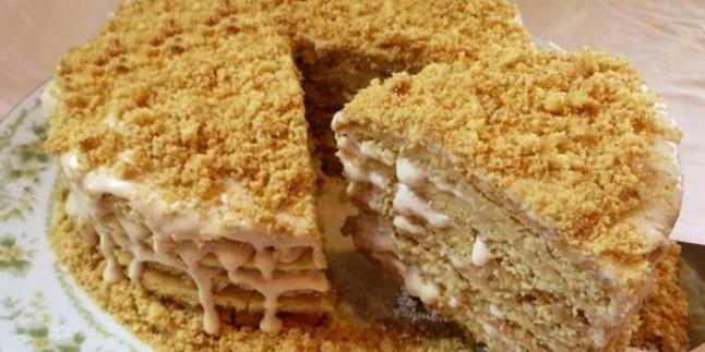 Havasından Geçilmez: Bal Kaymak Pastası Tarifi