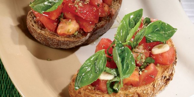 İtalyan Transfer; Kahvaltıda Bruschetta Tarifi