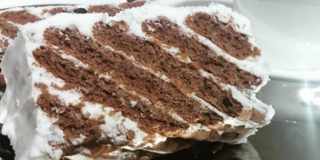 Kolaylıkta Sınır Tanımıyor:  Üç Malzemeli Balerin Pasta Tarifi