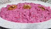 Rengi Kırmızı Pancardan : Pembe Sultan Tarifi