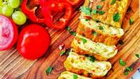 Pazar Kahvaltısına da Ne Yakışır: Rulo Omlet Tarifi