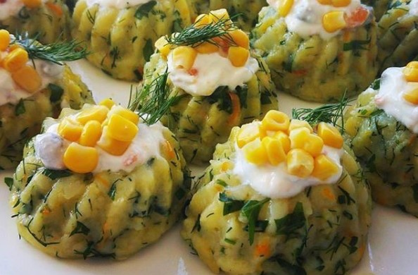 Kalıpta Aşk Var: Ezme Patates Salatası Tarifi