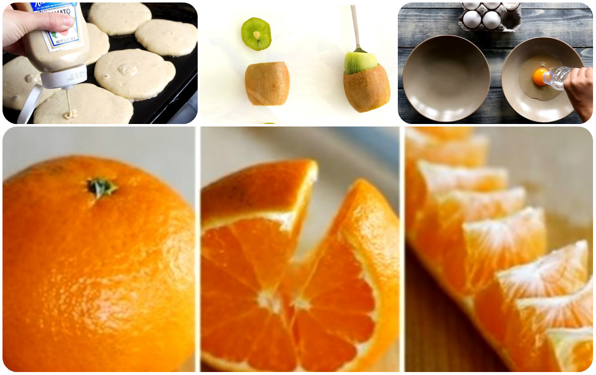 İşinizi Kolaylaştıracak 7 Yiyecek Hilesi