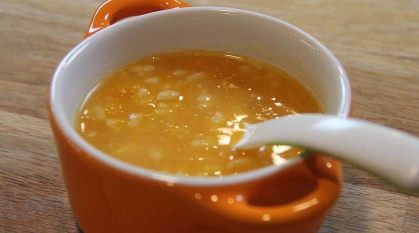 Bebekler için Pirinçli Balkabağı Çorbası Tarifi ( 8 Aylık +)