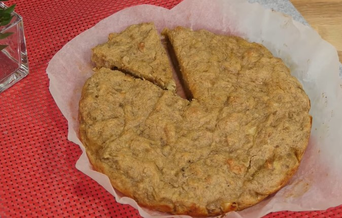 Bebekler için Elmalı Muzlu Kek Tarifi ( 8 Aylık + )