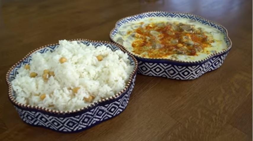 Pelin Karahan'dan: Çağla Yemeği ve Nohutlu Pilav Tarifi