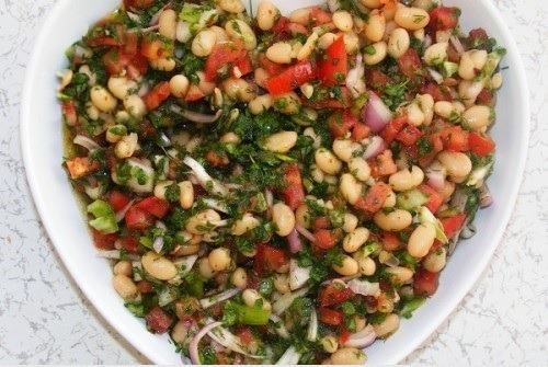 İftarlık: Kuru Fasulye Salatası Tarifi