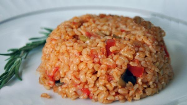 Sebzeli: Bulgur Pilavı Tarifi