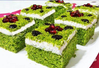 Renginin Güzelliği: Ispanaklı Pasta Tarifi