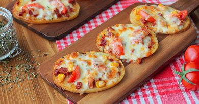 Pratikliğin Adı: Patates Dilim Pizza Tarifi